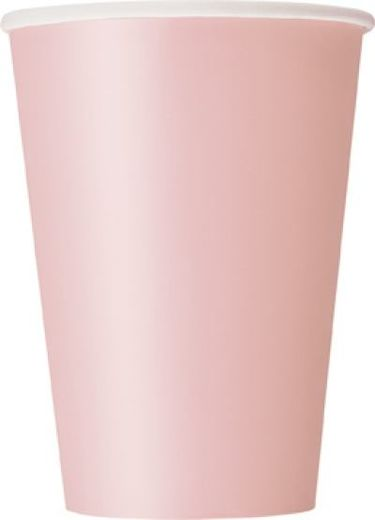 Pahvimuki  lovely pink 270ml. 14kpl. Unique